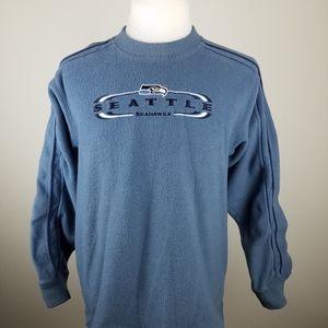 Vintage Seattle Seahawks Fleece Pullover Sweater